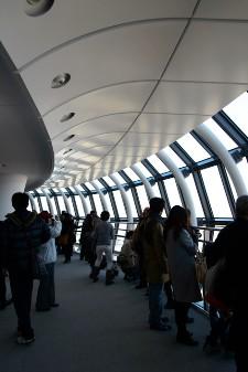 東京スカイツリー展望台へ真冬の雲ひとつ無い晴れた日に行ってきました