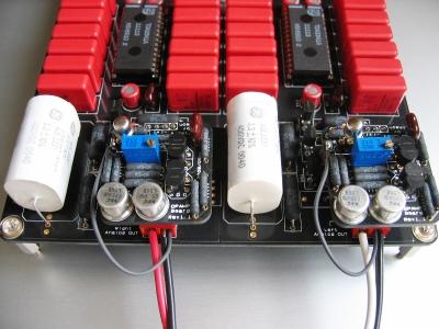 tda1541 的14颗 解耦电容